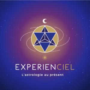 Logo Expérienciel- L'astrologie au présent- 300x300